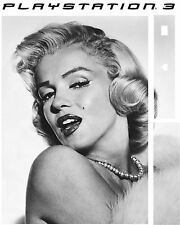 PlayStation 3 PS3 MARILYN MONROE Vinyl Sticker Skin