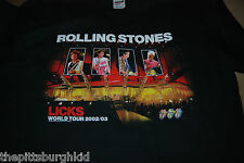 AWESOME 2002/03 ROLLING STONES LICKS SARS CONCERT T SHIRT LARGE NEVER WORN