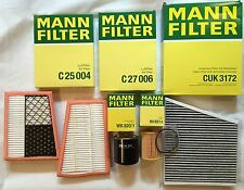 MANN-FILTER SET MERCEDES BENZ E-CLASS W211 280 CDI 320 CDI S211 MANN FILTER
