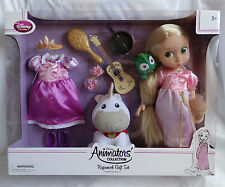 New Disney Store Rapunzel Doll Gift Set Animators' Collection Tangled Princess