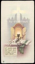 "santino-holy card""""ediz. NB  n.251 TU ES PETRUS"