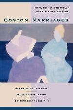 Boston Marriages : Romantic but Asexual Relationships among Contemporary...