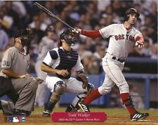 TODD WALKER 8x10 ACTION PHOTO (2003 ALCS Game 1 HR vs NY Yankees) BOSTON RED SOX