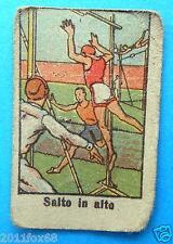 figurines cromos figurine sportive sports anni 30 40 v.a.v. vav salto in alto ss