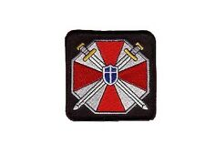 Resident Evil Umbrella ecusson avec velcros resident evil Umbrella velcro patch