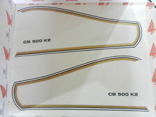 Honda CB 500 Four K2 Tank Tankdekor Tankzierstreifen Zierstreifen Decals Stripes