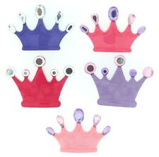 """Jesse James Dress It Up Buttons  """"Princess Crowns"""" # 7682 Flat Rate Shipping"""