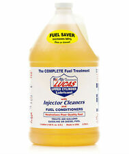 Case of 4 Lucas 10013 Fuel Treatment 1 Gal - Gas Diesel Upper Cyl Lube Inj Clner