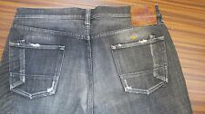 PRPS Jeans Faded Black (or Dark Gray) Button Fly 38X29 100% AUTHENTIC JAPAN NICE