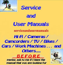 FLUKE   - Service and User Manuals
