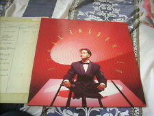 a941981  Leslie Cheung 張國榮 LP Final Encounter w/  Promo Green Outer Paper Jacket