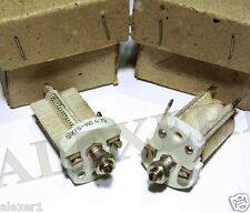 1x  Russian Variable Air Capacitor 8-140pF 400V Silver New, Old Stock
