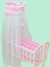 CANOPY drape-to fit baby swinging crib/wicker basket/craddle HOLDER NOT INCLUDED