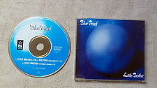 """CD AUDIO INT/ BLUE PEARL """"LITTLE BROTHER"""" CD MAXI 1990 BIG LIFE 879145-2 3 TRACK"""