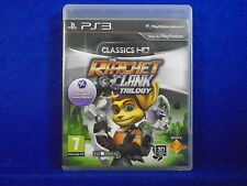 ps3 RATCHET & AND CLANK TRILOGY 1 + 2 + 3 S* Playstation PAL UK REGION FREE