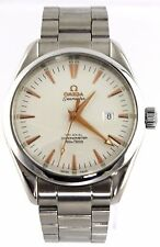 OMEGA SEAMASTER AQUA TERRA 2502.34 AUTOMATIC CO-AXIAL ROSE GOLD MENS STEEL WATCH
