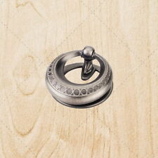 "Cabinet Hardware Pendant Pulls ku976 Weathered Nickel 2"" knob"