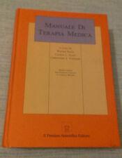MANUALE DI TERAPIA MEDICA - 1990 - 1° Ed. Il Pensiero Scientifico