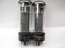 MULLARD made forTungsol EL34  XF2  PLATINUM MATCHED PAIR O-O GETTER