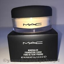 "Mac Mineralize Foundation Loose Powder ""MEDIUM"" NEW IN THE BOX 100% Authenic"