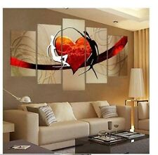 5p MODERN ABSTRACT HUGE WALL ART OIL PAINTING ON CANVAS(No frame)