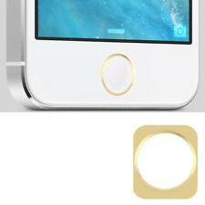 Golden ring Home Button Key Button aluminium ring gold gold white for iphone 5