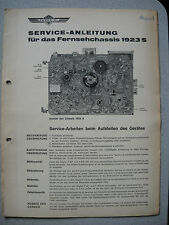 Imperial S/W TV chassis 1923 S service manual