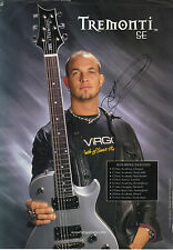 "MARK TREMONTI - SIGNED ""PRS SE"" GUITAR AD - ALTER BRIDGE - TREMONTI - CREED RARE"