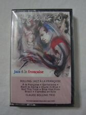 Jazz a la Francaise Claude Bolling Trio 1984 New Sealed Cassette Tape