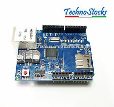 W5100 Ethernet Shield Network Expansion Board w/ Micro SD Card Slot for Arduino