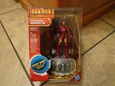2009 HASBRO--IRON MAN 2 HALL OF ARMOR COLLECTION--IRON MAN MARK IV FIGURE (NEW)
