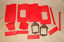 Playmobil komplettes Dach für alte Mittelalterhäuser (aus z.B. 3440)