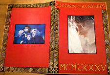 Siouxsie and the Banshees * MCMLXXXV * tour book/Tour Program * UK 1985 * RARE!