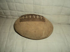 Vintage Leather Melon Football-7 Inches Long