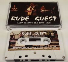 RUDE GUEST Lost Chicago Ska 1982-93 CASSETTE 2 Tone Specials Madness Beat CSD