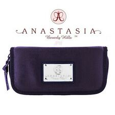 ANASTASIA Beverly Hills PURPLE Makeup Bag for Brow Duo Powder Brush & Tweezers