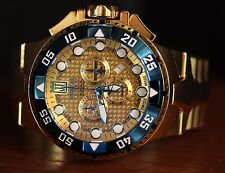 Invicta Mens JT Reserve 50mm Jason Taylor Excursion Swiss Made Gold Tone Watch