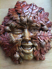 Acorn Imp Plaque by Summerisle, Greenman, green woman, lady, wiccan, pagan
