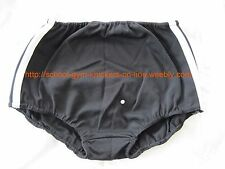 Girls/Ladies GYMPHLEX BLACK School/Gym Knickers/Briefs Size XXL (32-40W) BNIB