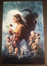 BEAUTY AND THE BEAST Cast(x4) Authentic Signed EMMA WATSON 11x17 Photo (PROOF)