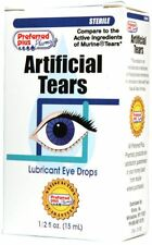 Artificial Tears Lubricant Eye Drops 15 ml (Pack of 9)