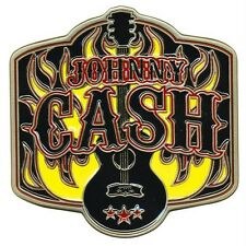 Johnny Cash - Guitar Belt Buckle