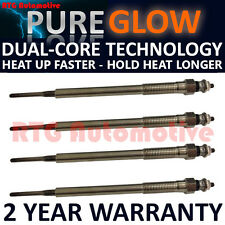 4X FOR TOYOTA AVENSIS COROLLA RAV4 VERSO PREVIA 2.0 HEATER GLOW PLUGS GP53101