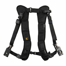 Dual/Double Shoulder Sling Belt Quick Rapid Strap for DSLR Digital SLR Camera