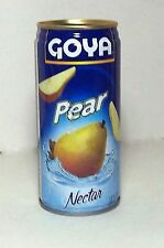 Goya Pear Fruit Juice Nectar Puerto Rico Refresco Cold Drink Beverage Food12ccc