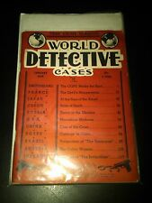 World Detective Cases January 1939 First Issue