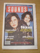 SOUNDS 1989 DECEMBER 2 SUGARCUBES TEXAS PHIL COLLINS WHITESNAKE BOB MOULD