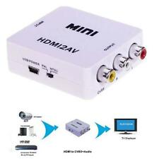 Composite 1080P HDMI to RCA Audio Video AV CVBS Adapter Converter For HDTV WY