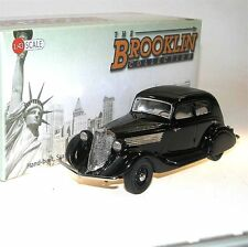 Brooklin BRK 127a, 1934 Studebaker Commander Landcruiser Sedan, black, 1/43