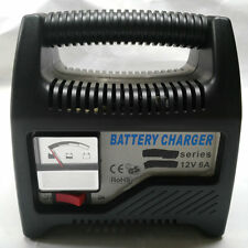6AMP Battery Charger Jump Engine Starter Car Truck Riding Mower Boat Motorcycle